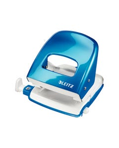 LEITZ NEXXT SERIES WOW METAL 2 HOLE PUNCH BLUE