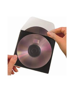 3L CD ROM POCKET WITH FLAP PACK 100