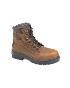 Blundstone 143 Crazy Horse Water Resistant Lace Up Boot