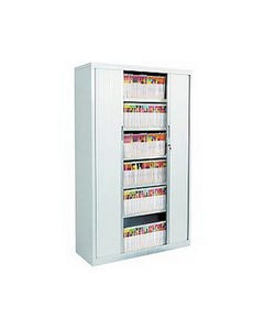 AVERY 20263OG/A20126 TAMBOUR CABINET PACKAGE 4 / 6 LEVELS OYSTER GREY