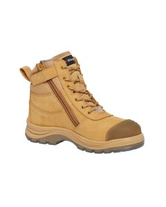 KingGee Tradies 130mm Zip Sided Safety Boot K27105