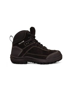 Oliver 34 Series Black Lace Up Ankle Safety Jogger 34-623