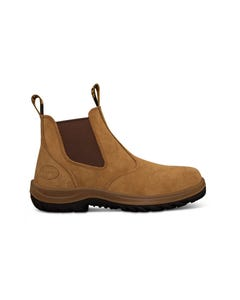 Oliver 34 Series Beige Elastic Sided Safety Boot 34-624