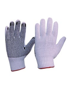 Pro Choice® Knitted Poly/Cotton With PVC Dots Gloves Mens Size 342KPDB