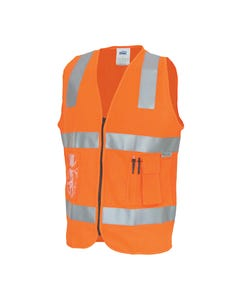 DNC Day/Night Side Panel Safety Vests 3807