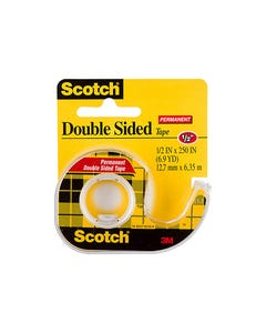 SCOTCH 136 DOUBLE SIDED TAPE 12.7MM X 6.3M