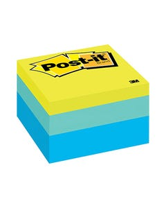 POST-IT 2056-RC NOTE CUBE 76 X 76MM RIBBON CANDY
