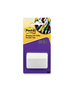 POST-IT 686-50WH3IN DURABLE TABS/DIVIDERS 75MM WHITE