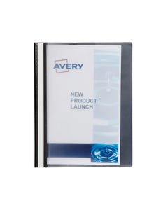 AVERY 49020 MANAGEMENT FILE EXTRA WIDE A4 50 SHEETS BLACK