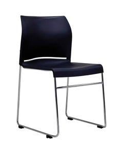 BURO ENVY VISITOR CHAIR SLED BASE BLACK
