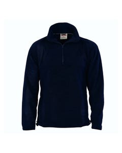 DNC Unisex Half Zip Polar Fleece
