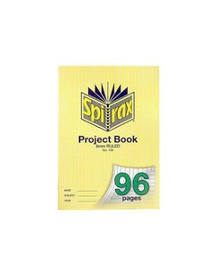 SPIRAX 144 PROJECT BOOK 8MM RULED A4 96 PAGE
