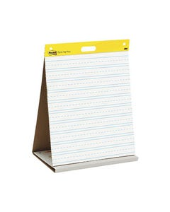 POST-IT 563 TABLETOP PRIMARY RULED EASEL PAD 508 X 584MM
