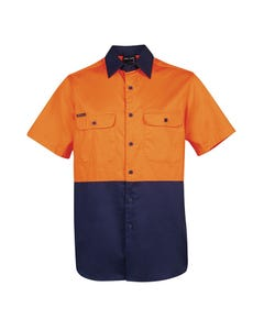 JB's Wear Hi-Vis Short Sleeve 150G Shirt 6HWSS