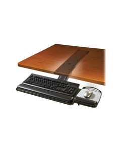 3M AKT180LE KEYBOARD TRAY WITH ADJUSTABLE SIT/STAND ARM BLACK