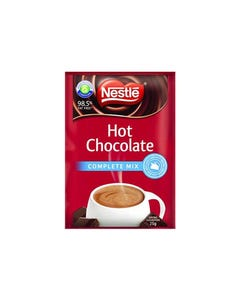 Nestle Hot Chocolate Complete Mix 25g Sachets Pack 100