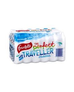 FRANTELLE SPRING WATER PET 600ML CARTON 24