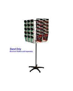 JPM ROTARY DISPLAY STAND SETUP ONLY 4 SIDED BLACK