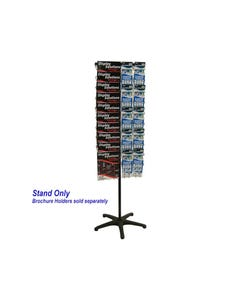 JPM ROTARY DISPLAY STAND SETUP ONLY 1 SIDED BLACK