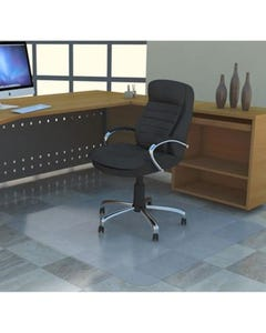 MARBIG TUFFMAT CHAIRMAT POLYCARBONATE HARDFLOOR 1200 X 1500MM CLEAR