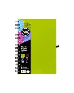 SPIRAX 511 KODE HARD COVER NOTEBOOK 160 PAGE A5 ASSORTED