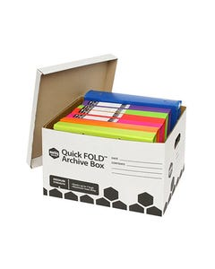 MARBIG QUICKFOLD ARCHIVE BOX W320 X L420 X H260MM