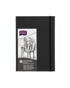 DERWENT ACADEMY HARDCOVER VISUAL ART DIARY PORTRAIT 128 PAGES A4