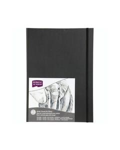 DERWENT ACADEMY HARDCOVER VISUAL ART DIARY PORTRAIT 128 PAGES A3