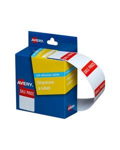 AVERY 937255 MESSAGE LABELS SALE PRICE 24 X 32MM PACK 400
