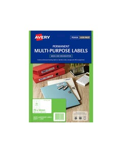 AVERY 959033 L7666 LABELS MEDIA DISKETTE 70 X 52MM PACK 25