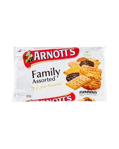 ARNOTTS FAMILY ASSORTED BISCUITS 500GM