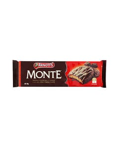 ARNOTTS CHOCOLATE BISCUITS MONTE 200GM