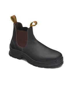 Blundstone 311 Brown Elastic Sided Safety Boot TPU Sole