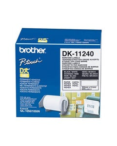 BROTHER DK-11240 LABEL ROLL 102 X 51MM WHITE ROLL 600