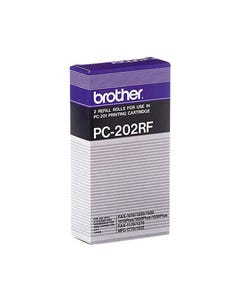 BROTHER PC202RF FAX REFILL ROLL PACK 2