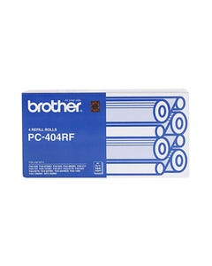 BROTHER PC404RF FAX REFILL ROLL PACK 4