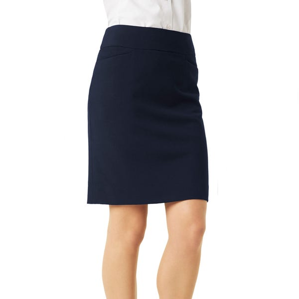 Biz Collection Ladies Classic Knee Length Skirt BS128LS