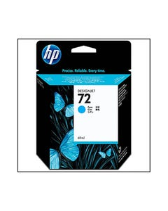 HP C9398A 72 INK CARTRIDGE DESIGNJET CYAN