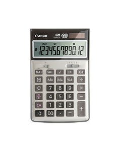 CANON HS-20TG DESKTOP CALCULATOR RECYCLED 12 DIGIT SILVER