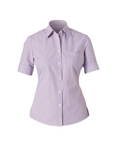 NNT Ladies Short Sleeve Action Back Shirt CAT47C