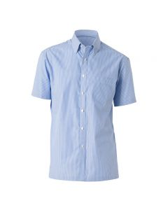 NNT Mens Short Sleeve Button Down Collar Shirt