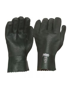ProChoice® 27cm Green Double Dipped PVC Gloves Large