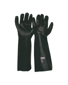 ProChoice® 45cm Green Double Dipped PVC Gloves Large