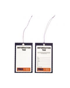 ProChoice® Safety Tag -125mm X 75mm Information (Blank)