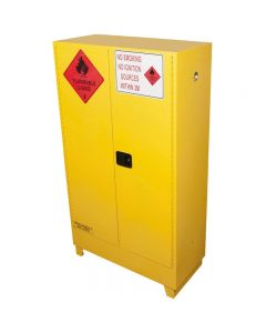 BRADY FLAMMABLE LIQUID STORAGE CABINET VALUE 250L YELLOW