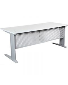 SUMMIT WORKSTATION PACKAGE 1800 X 750MM WHITE/SILVER