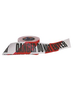 Pro Choice® Barricade Tape - 100m x 75mm DANGER DO NOT ENTER Print DDNET10075