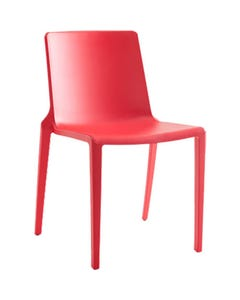 BURO MEG VISITOR CHAIR STACKABLE RED