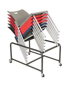 BURO PRONTO 4-LEG CHAIR TROLLEY
