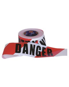 Pro Choice Barricade Tape - 100m x 75mm DANGER Print DT10075